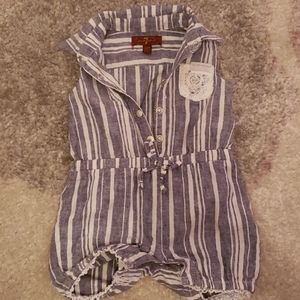 7 for all mankind baby jumpsuit
